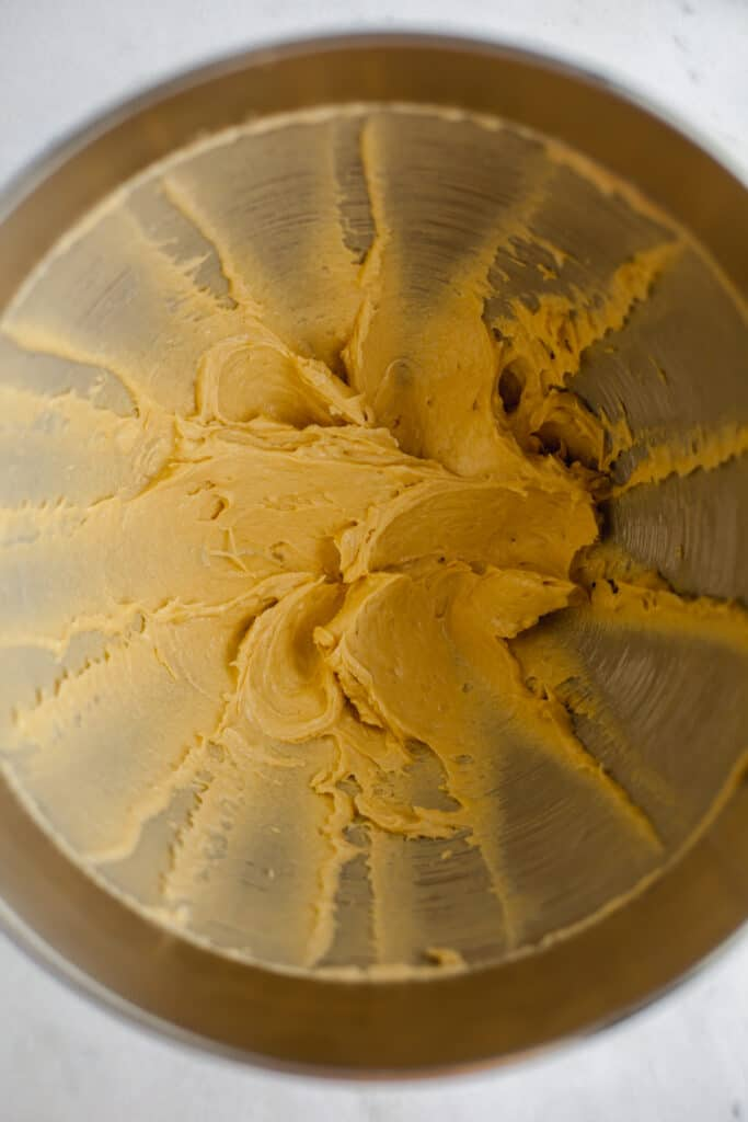 whipped butter in a bowl