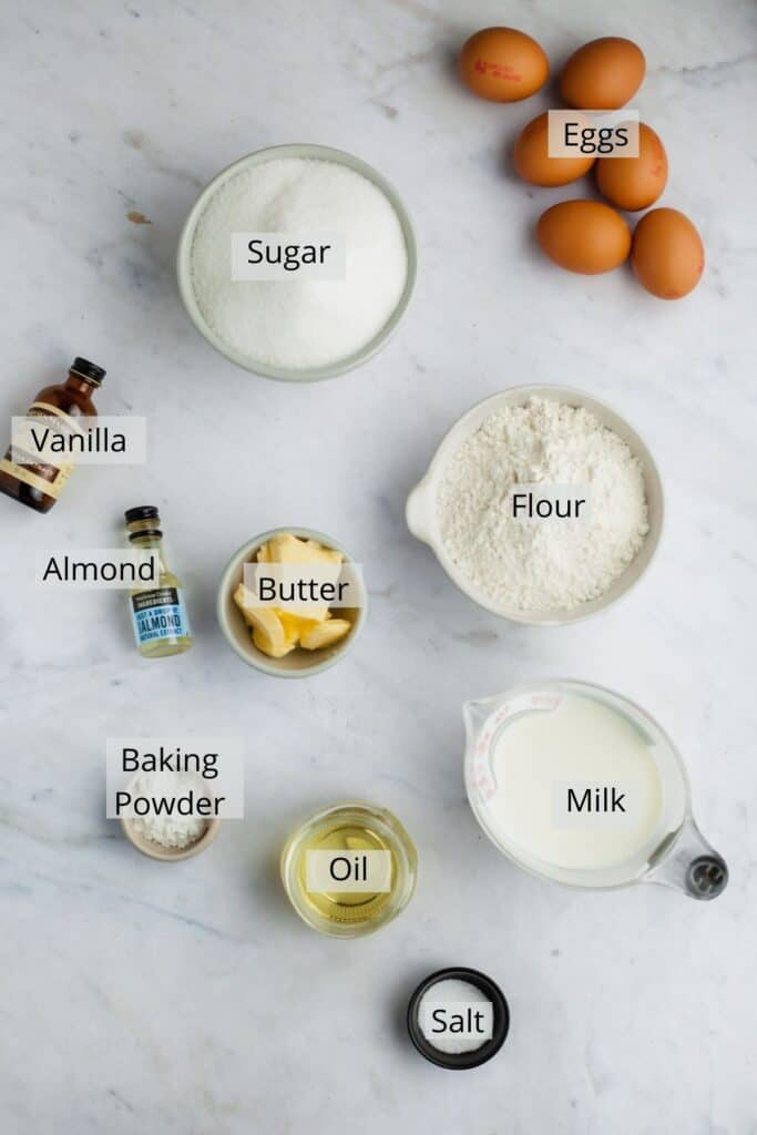 ingredients needed for tiramisu cake